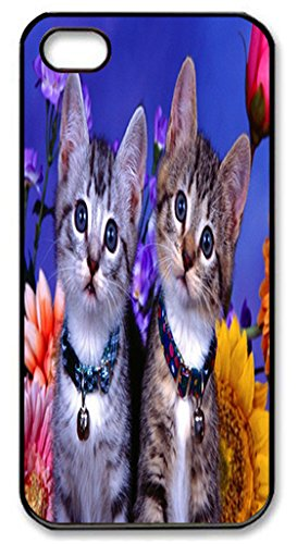 Rescuing And Fostering Adoptable Cats Customize Animal iPhone 5/5S Case for iPhone 5/5S Hard Cover Lovely Animal Design Fits Case