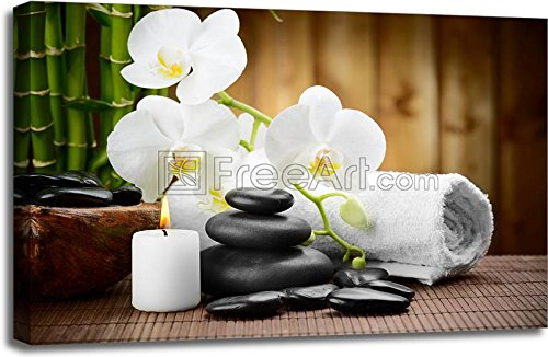 Spa Concept Gallery Wrapped Canvas Art (24in. x 36in.)
