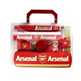 Arsenal Official Merchandise Football Club Sports Accessories, Gifts & Stationary Items. (Arsenal PP Stationery Gift Set)