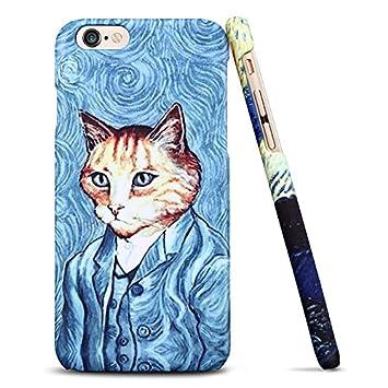 Funda carcasa iPhone 6 / 6S, gatos Sen, Plásticos / PC ...