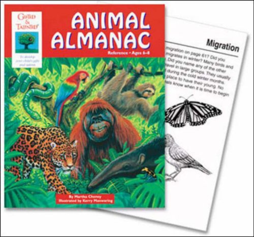 Animal Almanac (Gifted & Talented Reference Book Series)