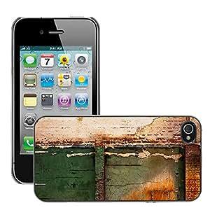 Print Motif Coque de protection Case Cover // M00154834 Fondo de la pared de la fachada de la // Apple iPhone 4 4S 4G