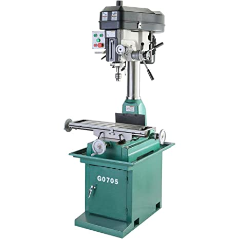 Used Milling Machines Power Tools Tools Home Amazon Com >> Grizzly G0705 Drill Mill With Stand And 29 X 8 Inch Table