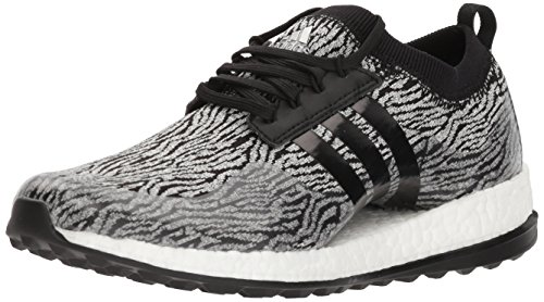 adidas Women's W Pure Boost Xg Golf Shoe, Core Black/White/Core Black, 8 Medium US