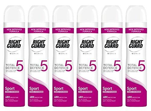 Right Guard Women Total Defence 5 Sport Anti-Perspirant Aerosol Deodorant...