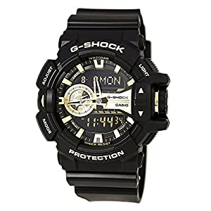 Casio G-Shock GA-400GB Garish Series Watches – Black/Gold / One Size