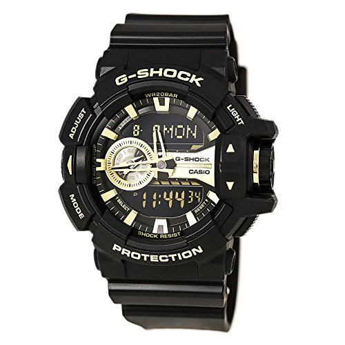 G-Shock GA-400GB Garish Series Watches - Black/Gold / One Size (Casio Ga 400 compare prices)