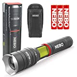 NEBO 6746 Tac Slyde 300 Lumen LED Flashlight/Work Light Bundle with Nebo 6274 Holster