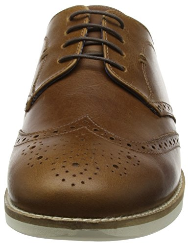 Scarpe Red Tirley Tan Uomo 201 Tape Marrone Leather Brouge Stringate 0rq506Ew