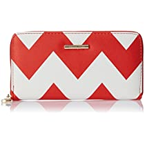 Diana Korr Womens Wallet White and Red DKW16RABST