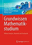 Book Cover for Grundwissen Mathematikstudium: Höhere Analysis, Numerik und Stochastik (German Edition)