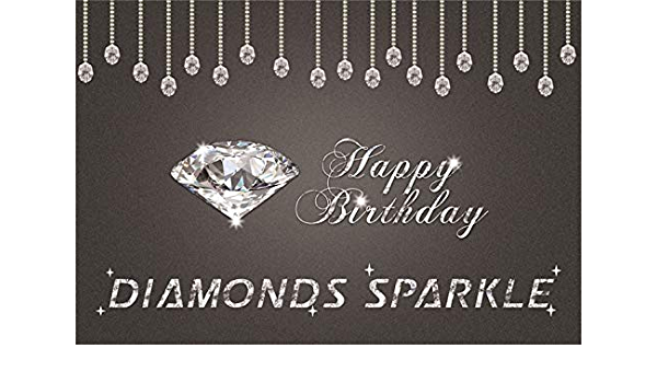 5x7ft Vinyl Colorful Diamond Glossy Crystal Brilliant Abstract Backdrop Motion Background LYZY0154 for Party Decoration Birthday YouTube Videos School Photoshoot Photo Background Props