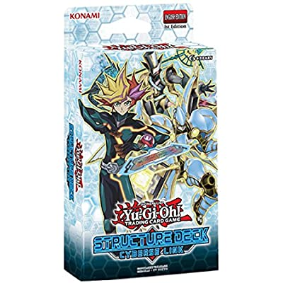 YU-GI-OH! KON547359 Cyberse Link Structure Deck Card: Toys & Games