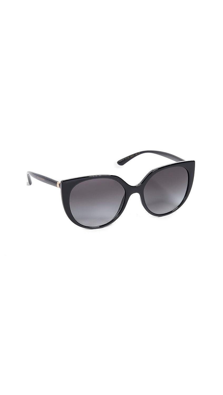 96d9c335b7b0 Amazon.com  Dolce   Gabbana Women s Line Cat Eye Sunglasses