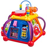 Musical Learning Toy For Toddlers TG654 - Children's Musical Activity play Centre with lights and Sounds – Learning Toys For Boys and Girls Toddlers By ThinkGizmos (Trademark Protected)