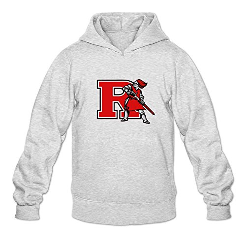 Reder Men's Rutgers Scarlet Knights Sweatshirt Hoodie XXL Light Grey