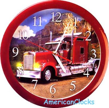 Amazon.com: Diesel Engine Truck sonido Reloj de pared ...