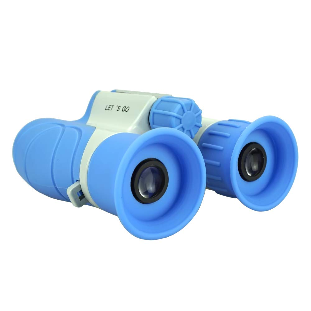 Toys for 6 Year Old Boys, Our-Day Binoculars for Kids Gifts for Teen Girls Gifts for Teen Boys Toy for Kids Camping and Hunting Gifts for 3-12 Year Old Boys Girls Blue ODUSWY02