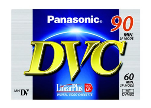 Panasonic Mini Dv Tape Sp 60/Lp 90 Min [3 Pack]