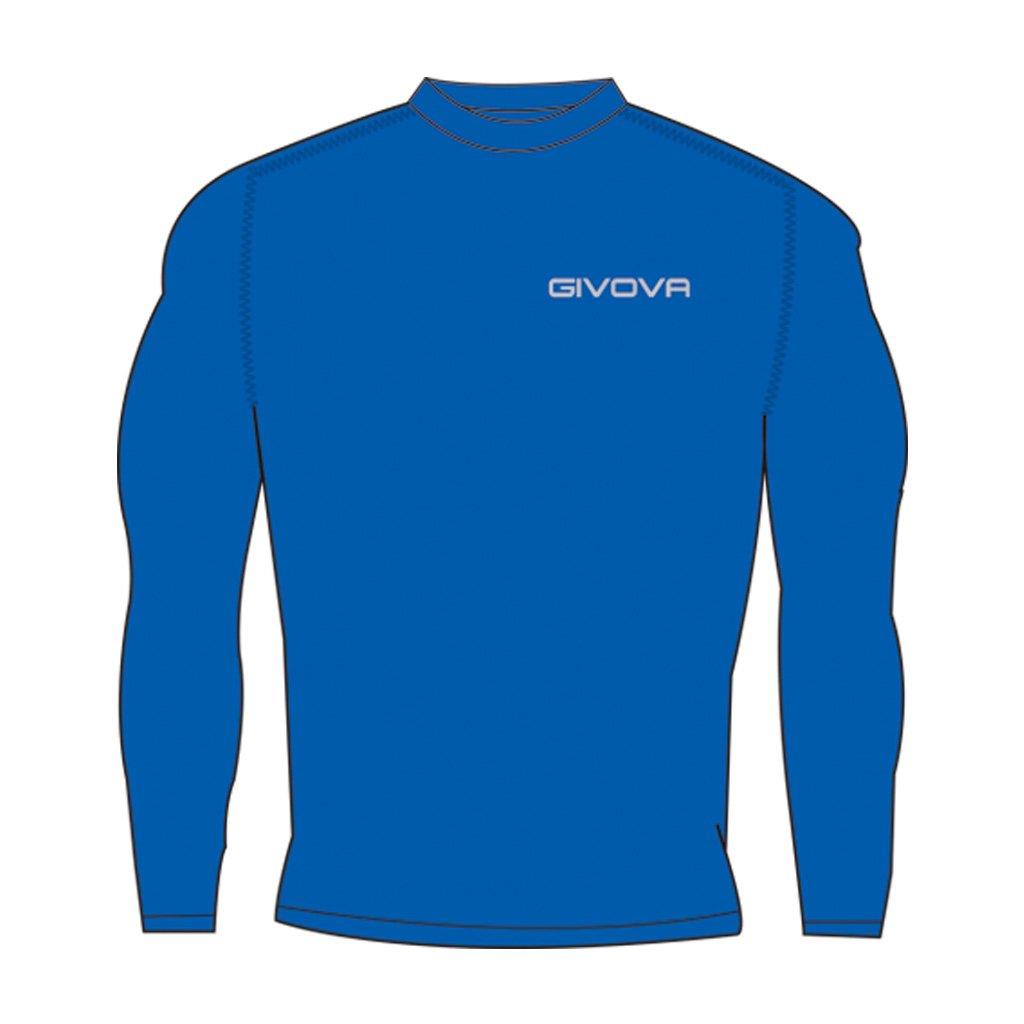 TALLA S. Givova, corpus 3 suéter elástico íntimo m/l, azul, S