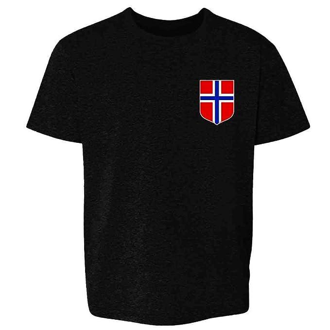 Amazon.com: Camiseta de fútbol de Noruega con diseño retro ...