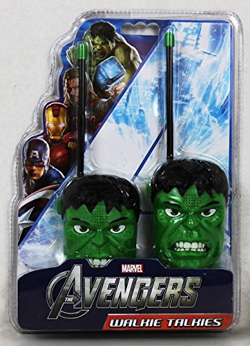 GoDeire(TM) Marvel Hulk Walkie Talkies (17043-HLK) New