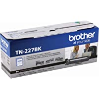 Brother Genuine TN227, TN227BK, High Yield Toner Cartridge, Replacement Black Toner, Page Yield Up to 3,000 Pages…