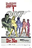 "Posters USA - 007 Dr. No James Bond Movie Poster GLOSSY FINISH) - MOV185 (24"" x 36"" (61cm x 91.5cm))"