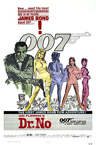 Posters USA - 007 Dr. No James Bond Movie Poster GLOSSY FINISH) - MOV185 (24