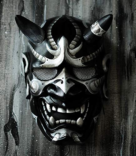 tripple_777 Hannya Kabuki Demon Oni Airsoft Mask BB Gun Halloween Costume Evil Cosplay MA242