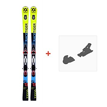 Völkl RACETIGER SL Ski 2018 INKL. RMOTION2 12GW Race Black/Fluo Red, 160: Amazon.es: Deportes y aire libre