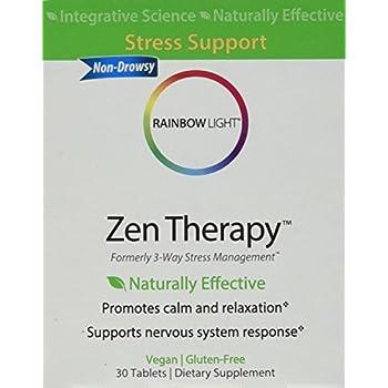 Amazon Com Rainbow Light Zen Therapy 30 Count Stress