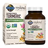 Garden Of Life Mykind Organics Maximum Strength Turmeric Joints & Mobility Vegan Tablets, 30 Count For Sale