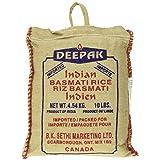 Deepak Rice-Basmati, 10Lb- Packaging may vary