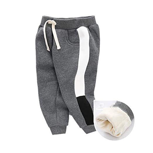 Cintura elástica Informal para niños Pantalones de chándal de ...