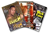 WWF Ringleaders Collection (The Rock - The Peoples Champ / Stone Cold - Hell Yeah / Mick Foley - Hard Knocks and Cheap Pops)