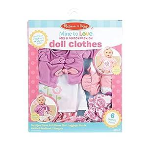 Melissa & Doug Mix & Match Fashion Doll Clothes