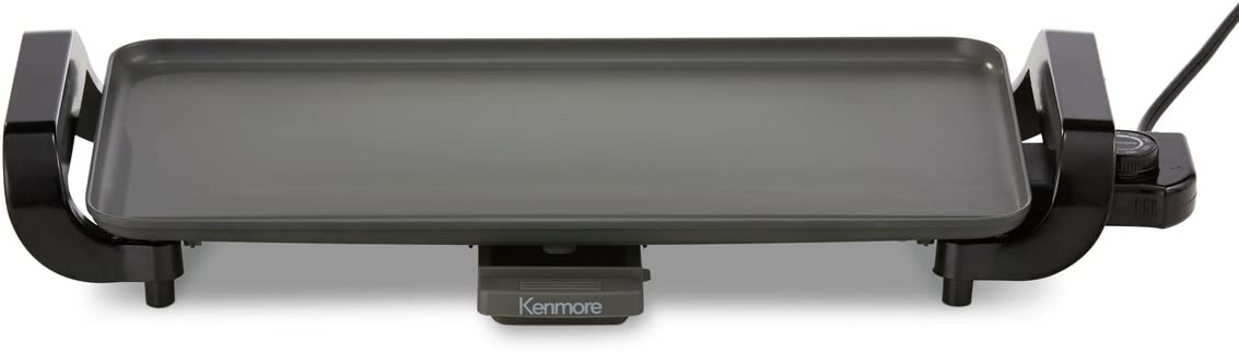 Kenmore 88916 10 x 18 Non-Stick Electric Griddle in Gray
