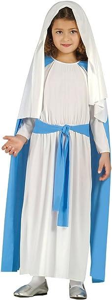 Costume da Vergine Maria bambina recita Madonna Presepe vivente 5