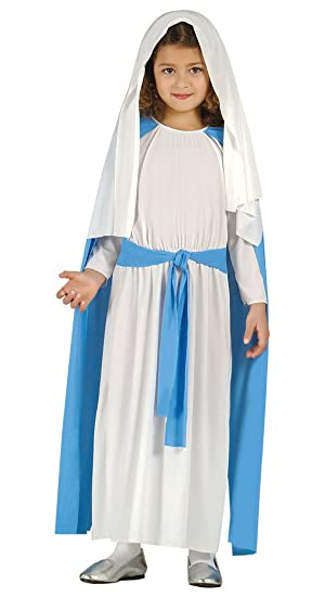 Ladies VIRGIN MARY Nativity ChristmasTheatre Play Adult Fancy Dress Costume