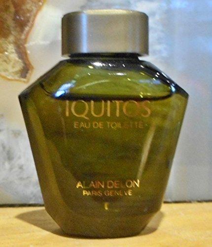 Eau De Toilette Miniature - Rare Alain Delon Iquitos Eau De Toilette Men's Miniature .2oz Collectible Fragrance