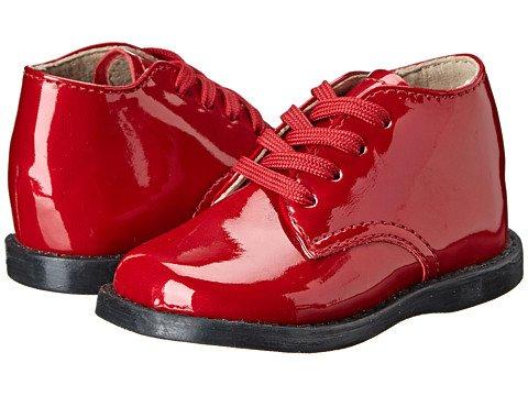 Footmates Tina Red Patent Ribbon Lace /& Regular Lace