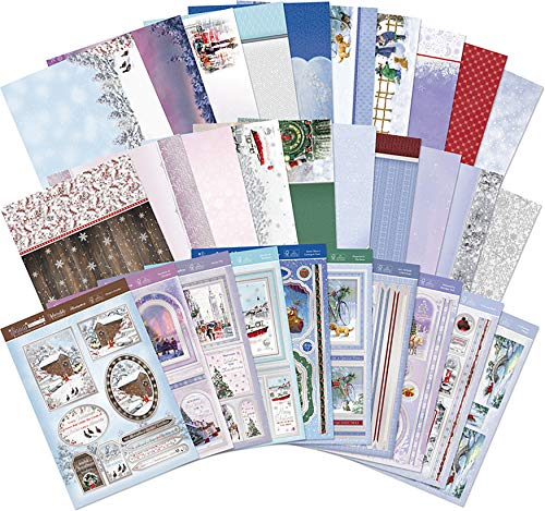 Hunkydory Snow is Falling Luxury Topper Collection SNOWY18-101