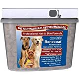 Value Size Benecoat Fish Oil for Dogs with Krill Oil, EPA, DHA, Collagen, MSM and Zinc Picolinate   180ct