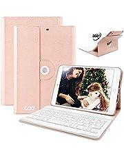 COO iPad Mini123 Tastatur Hülle, 360 Grad rotierende Stand iPad Keyboard Case mit Multi-Engel Stand, Auto Schlaf/Wachen und Bluetooth Deutsches QWERTZ Layout Tastatur