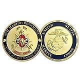 US 8th Marines Corps Challenge Coin Navy Veteran