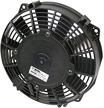 "SPAL Technologies 30100400 16/"" Straight Blade Low Profile Fan 12V Puller 1300CFM"