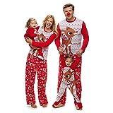 Rudolph the Red Nosed Reindeer Christmas Holiday Family Sleepwear Pajamas (Medium, Mom Rudolph)