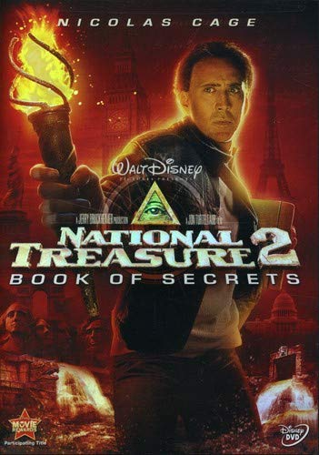 Book Of Secrets Dvd - National Treasure 2: Book of Secrets