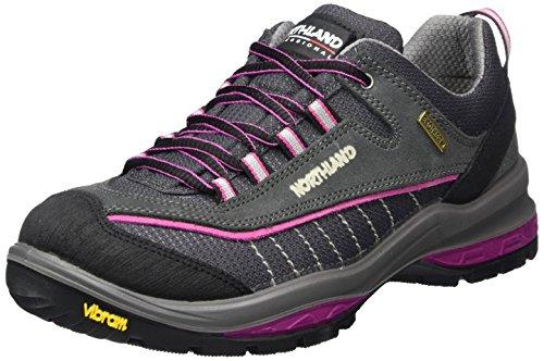 Grau LS Pink Northland Grey 0 Professional Sölden LC Wanderhalbschuhe amp; Damen Trekking np8Ipqx